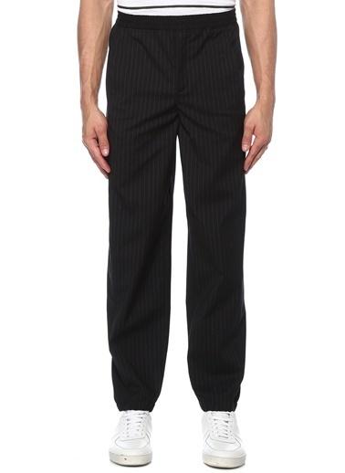 Neil Barrett Neil Barrett  Normal Bel Çizgi Desenli Pantolon 101491938 Siyah